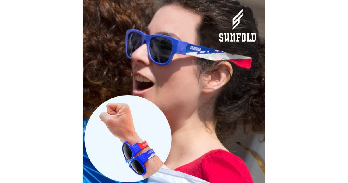 OUTLET Óculos de Sol Enroláveis Sunfold Mundial France (Sem embalagem)    Pontos AB 1aa84798ea